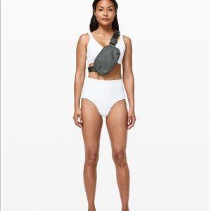 Lululemon Blue Clear Waters High Waisted Bikini